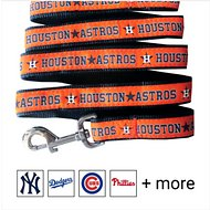 Pets First MLB Dog Leash, Houston Astros, Small