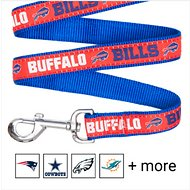 Pets First NFL Dog Leash, Buffalo Bills, Small