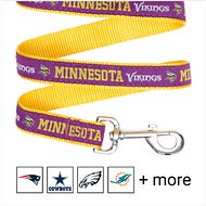 Pets First NFL Dog Leash, Minnesota Vikings, Medium
