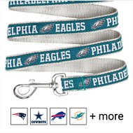 Pets First NFL Dog Leash, Philadelphia Eagles, Large