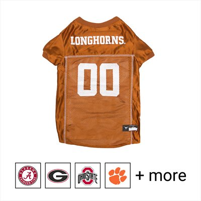 Pets First Texas Longhorns Cheerleading Outfit