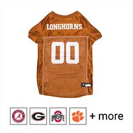 Pets First NCAA Dog & Cat Mesh Jersey, Texas Longhorns, X-Small