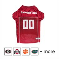 Pets First NCAA Dog & Cat Mesh Jersey, Alabama Crimson Tide, Large