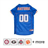 Pets First Florida Gators Mesh Dog Jersey, Medium
