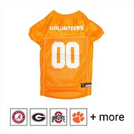 Pets First NCAA Dog & Cat Mesh Jersey, Tennessee Volunteers, X-Small