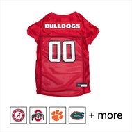 Pets First Georgia Bulldogs Mesh Dog Jersey, X-Small
