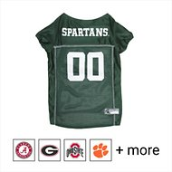 Pets First Michigan State Spartans Mesh Dog Jersey, Large