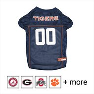 Pets First NCAA Dog & Cat Mesh Jersey, Auburn Tigers, Large