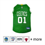Pets First Boston Celtics Mesh Dog Jersey, Large