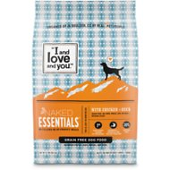 I and Love and You Naked Essentials Chicken & Duck Recipe Grain-Free Dry Dog Food, 23-lb bag