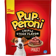 Pup-Peroni Triple Steak Flavor Dog Treats