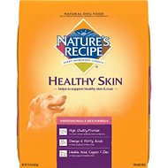 Nature's Recipe Healthy Skin Whitefish Meal & Rice Formula Dry Dog Food, 15-lb bag