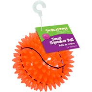 Gnawsome Squeak & Light LED Basketball Dog Toy, Color Varies, Small