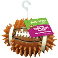 Gnawsome Squeak & Light LED Football Dog Toy, Color Varies, Medium