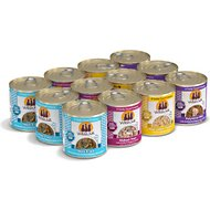 Weruva The 10 Ounce Pounce Variety Pack Grain-Free Canned Cat Food, 10-oz, case of 12