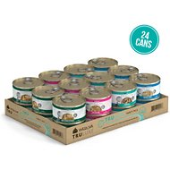 Weruva TruLuxe TruSurf Variety Pack Grain-Free Canned Cat Food, 3-oz, case of 24