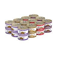 Weruva TruLuxe TruTurf Variety Pack Grain-Free Canned Cat Food, 3-oz, case of 24