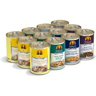 Weruva Baron's Batch Variety Pack Grain-Free Canned Dog Food, 14-oz, case of 12
