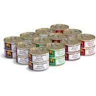 Weruva Chicken-Free Just 4 Me Variety Pack Grain-Free Canned Dog Food, 5.5-oz, case of 24