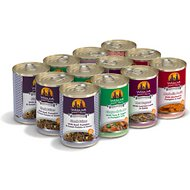 Weruva Chicken-Free Just 4 Me Variety Pack Grain-Free Canned Dog Food, 14-oz, case of 12
