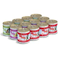 Weruva Dogs in the Kitchen Doggie Dinner Dance! Variety Pack Grain-Free Canned Dog Food, 10-oz, case of 12