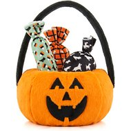 P.L.A.Y. Pet Lifestyle and You Howl-o-ween Treat Basket Plush Dog Toy