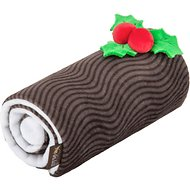 P.L.A.Y. Pet Lifestyle and You Holiday Classic Yummy Yuletide Log Plush Dog Toy
