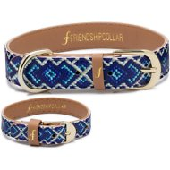 FriendshipCollar Mucky Pup Dog Collar with Friendship Bracelet, X-Small
