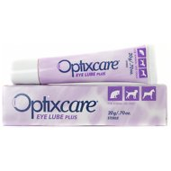 Optixcare Dog & Cat Eye Lube Plus Lubricating Gel, 0.70-oz tube