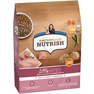Rachael Ray Nutrish Little Bites Small Breed Chicken & Veggies Dry Dog Food, 6-lb bag