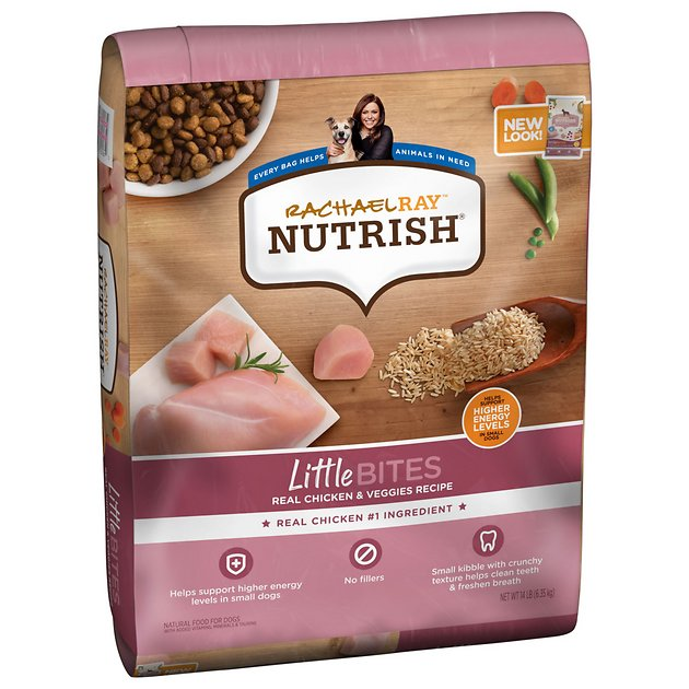 Rachael Ray Nutrish Little Bites Small Breed Natural Real Chicken