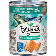 Purina Beyond Ocean Whitefish, Salmon & Sweet Potato Grain-Free Canned Dog Food, 13-oz, case of 12