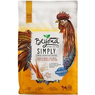 Purina Beyond Simply 9 White Meat Chicken & Whole Barley Recipe Dry Dog Food, 3.7-lb bag
