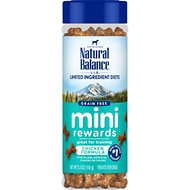 Natural Balance L.I.D. Limited Ingredient Diets Mini Rewards Chicken Formula Dog Treats, 5.3-oz jar