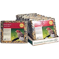 Heath Bird's Blend Seed Cake Bird Food, 2-lb, case of 8