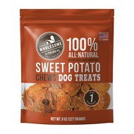 Wholesome Pride Pet Treats Sweet Potato Chews Dog Treats, 8-oz bag