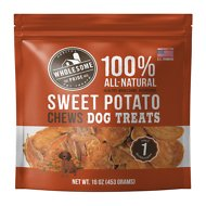 Wholesome Pride Pet Treats Sweet Potato Chews Dog Treats, 16-oz bag
