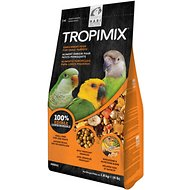 Hari Tropimix Enrichment Small Parrot Bird Food, 4-lb bag