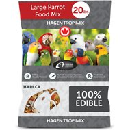 Hari Tropimix Enrichment Large Parrot Bird Food, 20-lb bag
