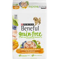 Purina Beneful Grain Free with Real Farm-Raised Chicken Dry Dog Food, 23-lb bag