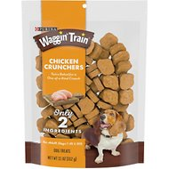 Waggin' Train Chicken Crunchers Dog Treats, 11-oz bag