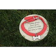 Evergreen Enterprises Dog Collar Memorial Garden Stone