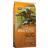 Purina Animal Nutrition Omolene 400 Complete Advantage Horse Feed, 40-lb bag