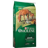 Purina Animal Nutrition Omolene 300 Growth Horse Feed, 50-lb bag