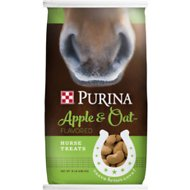 Purina Animal Nutrition Apple & Oat Flavored Horse Treats, 15-lb bag