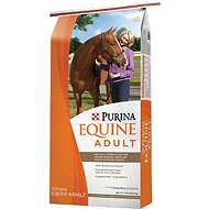 Purina Animal Nutrition Adult Horse Feed, 50-lb bag