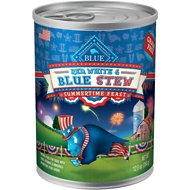 Blue Buffalo Red, White & Blue Stew Grain-Free Canned Dog Food, 12.5-oz, case of 12