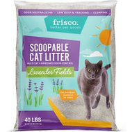 Frisco Lavender Fields Scent Multi-Cat Clumping Cat Litter, 40-lb bag