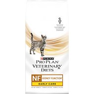 Purina Pro Plan Veterinary Diets NF Kidney Function Early Care Formula Dry Cat Food, 3.15-lb bag