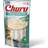 Inaba Churu Grain-Free Chicken with Crab Flavor Puree Lickable Cat Treat, 0.5-oz tube, pack of 4